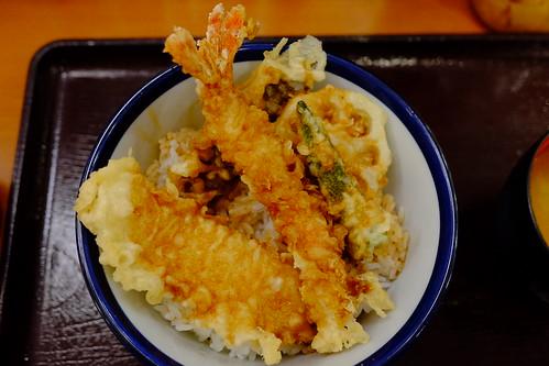 FUJIFILM X70 tendon tempura