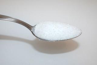 09 - Zutat Zucker / Ingredient sugar