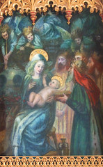 Adoration of the Magi (Reginald Hallward, c1910)