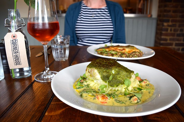 Fish Specials at The Corner House, Canterbury | www.rachelphipps.com @rachelphipps