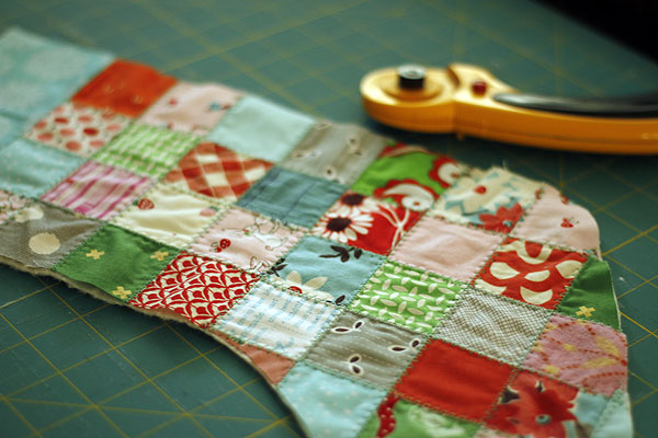 Pixie Noel Patchwork Stockings