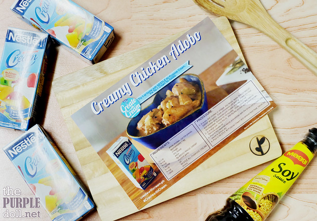 Creamy Chicken Adobo Recipe with Nestle Cream