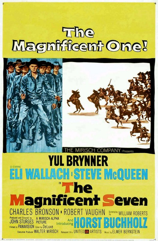 The Magnificent Seven - 1960 - Poster 2