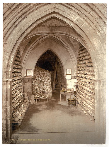 [The church crypt, Hythe, England]  (LOC) | by The Library of Congress