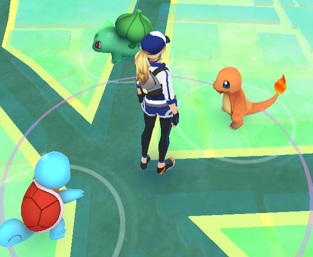 How to get pikachu at the beginning of pokemon go 00002