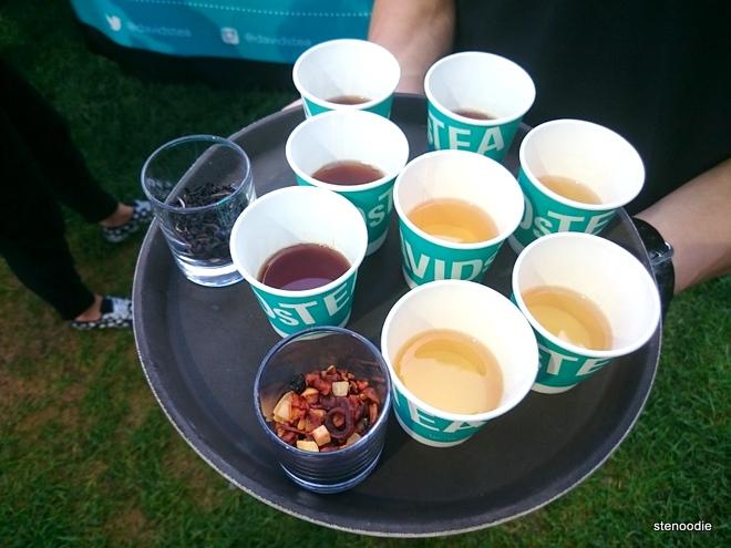 David's Tea samples