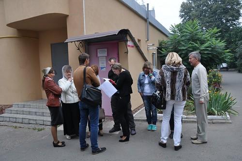 На Кавказькій— «спільнота безхатченків»