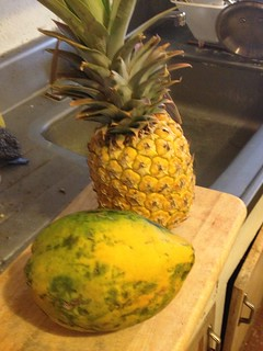 Before papaya & pineapple | Flickr - Photo Sharing!