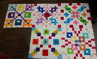 The first 5 Dangerous blocks for GE Designs BOM on her Facebook page. Lots of fun using up tiny scrap pieces.