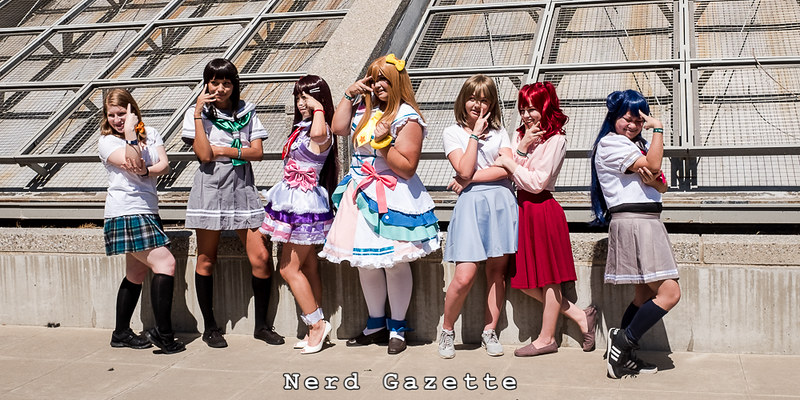 SacAnime Summer 2016 | Love Live! Cosplay Gathering