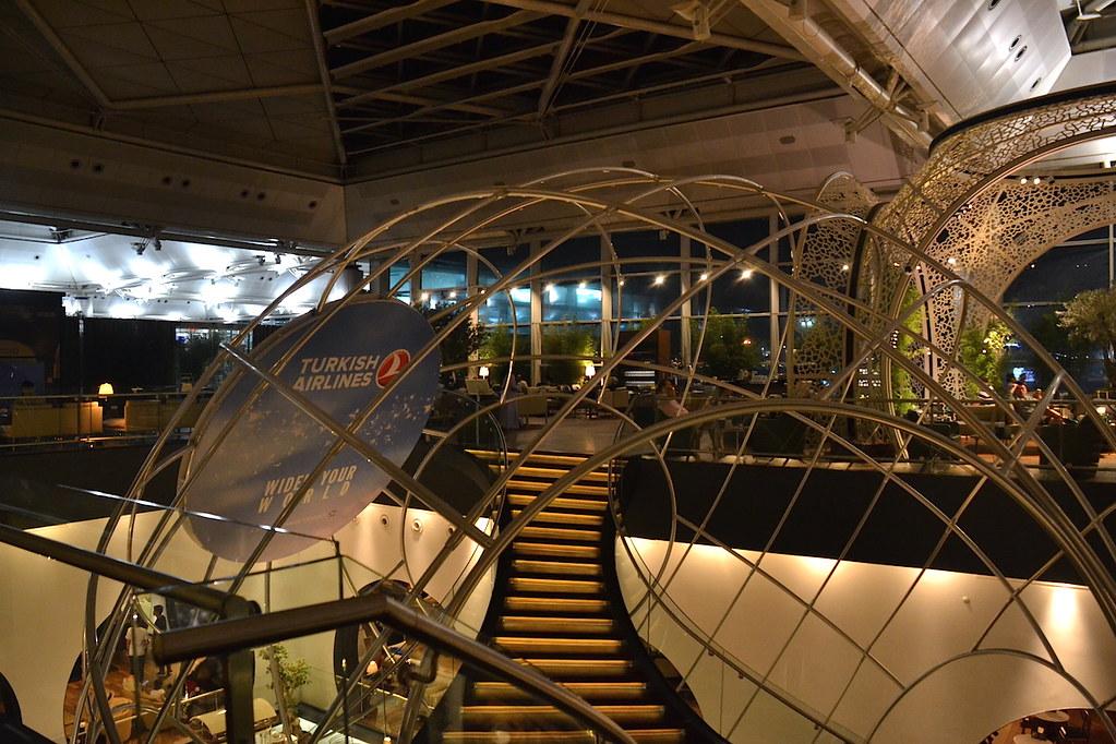 土耳其航空貴賓室樓梯