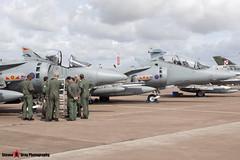 ZH657 108 - TX005 - Royal Air Force - British Aerospace Harrier T12 - Fairford RIAT 2010 - Steven Gray - IMG_8274