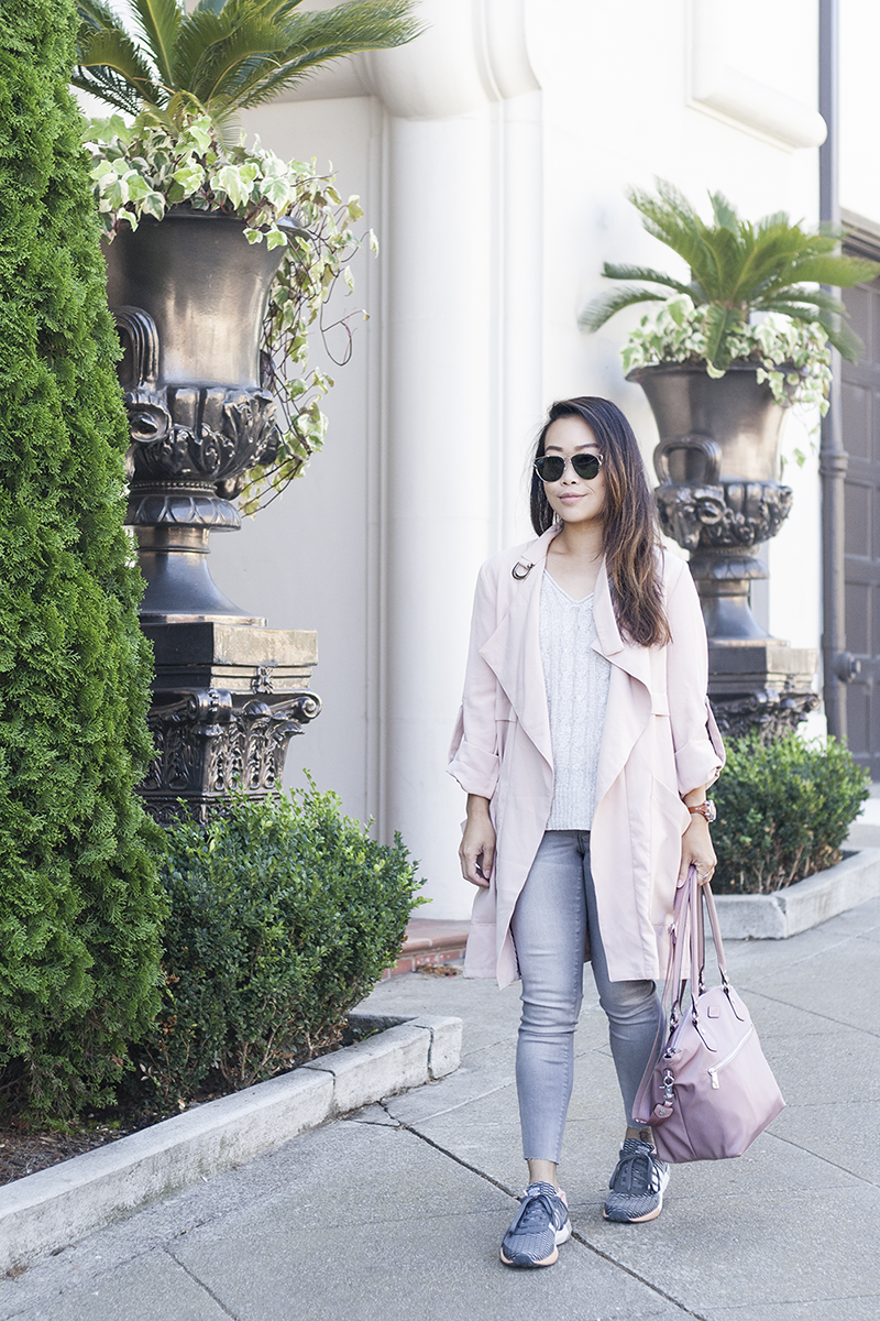 04sporty-chic-blush-pink-trench-denim-adidas-sneakers-style-fashion