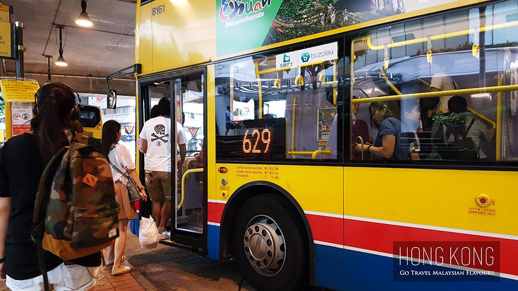 hong kong ocean park bus 629