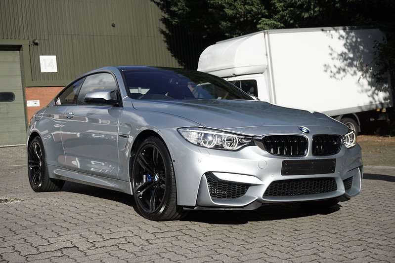 Clean And Shiny Hampshire Bmw M4 New Car Detail