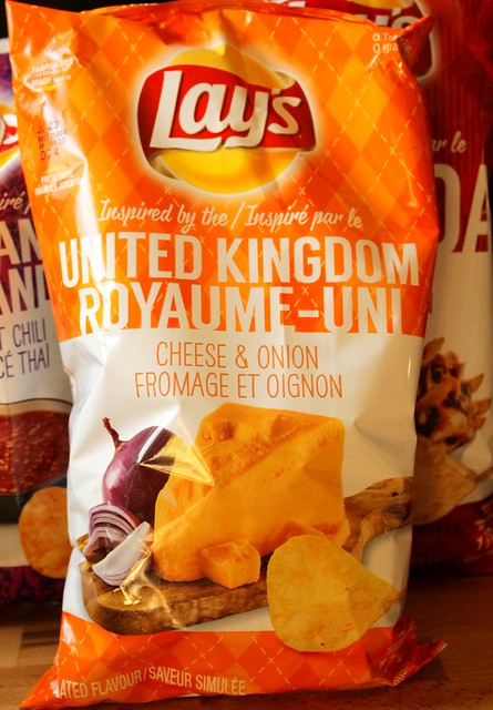 Lay's Do Us A Flavour World Flavourites Winners Bacon Poutine, Cheese & Onion & Thai Sweet Chili Chips