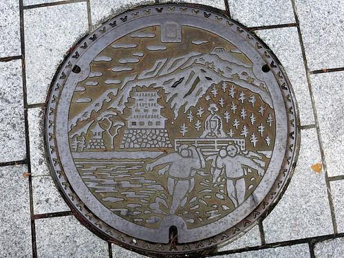 Odawara Kanagawa, manhole cover (神奈川県小田原市のマンホール)