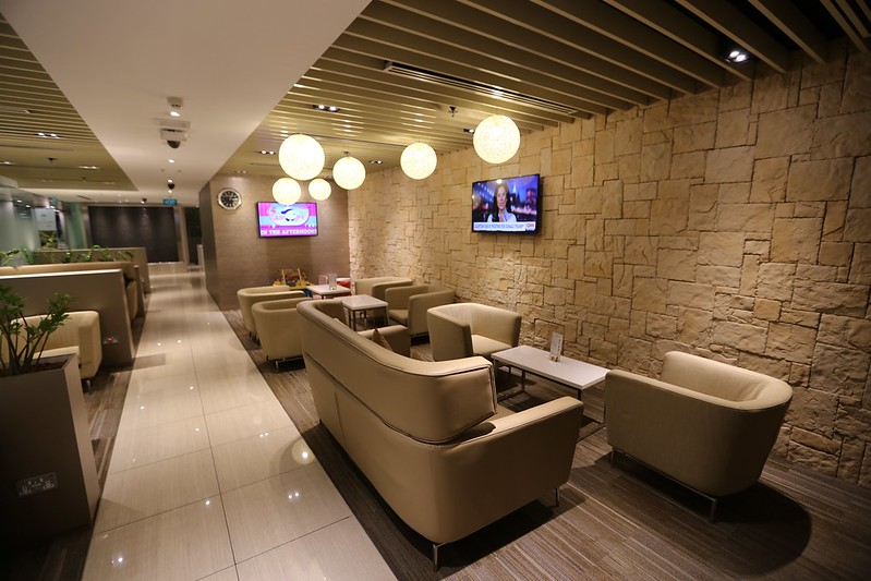 SIN Arrivals lounge