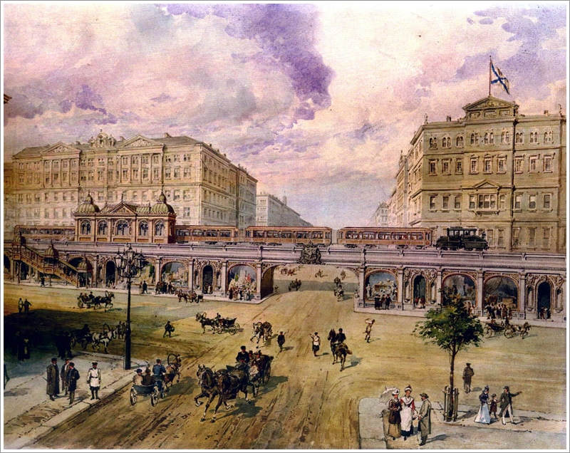 1聖彼得堡捷運想像圖