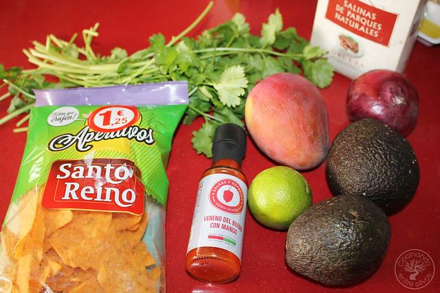 Apertitivo o dip de aguacate y mango www.cocinandoentreolivos.com (1)