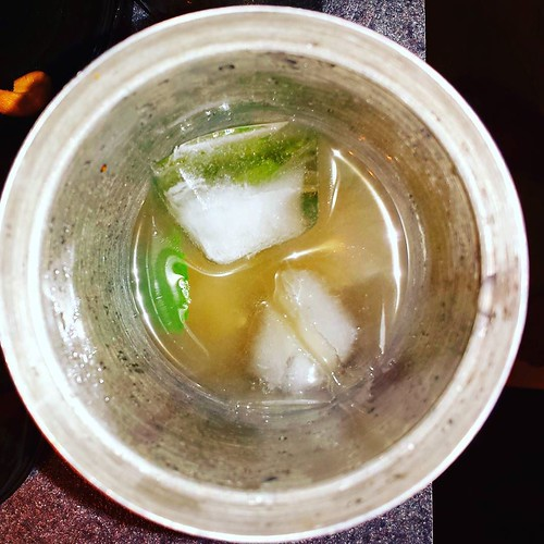 Mojito VII: Ice! I use cubes. #mojito #yum #rum