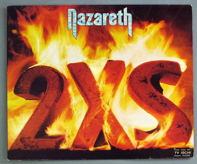 Nazareth 2xs France Scottish Hard Rock Vinyl Album