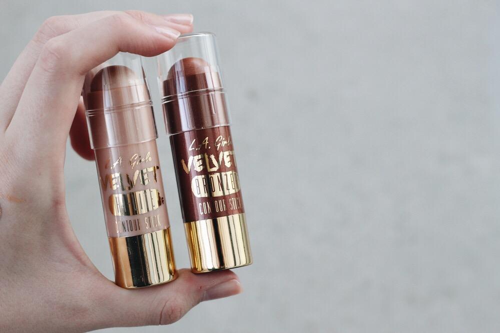 la girl highlight hilite radiance contour bronzer stick brazen