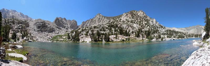 Bench Lake panorama