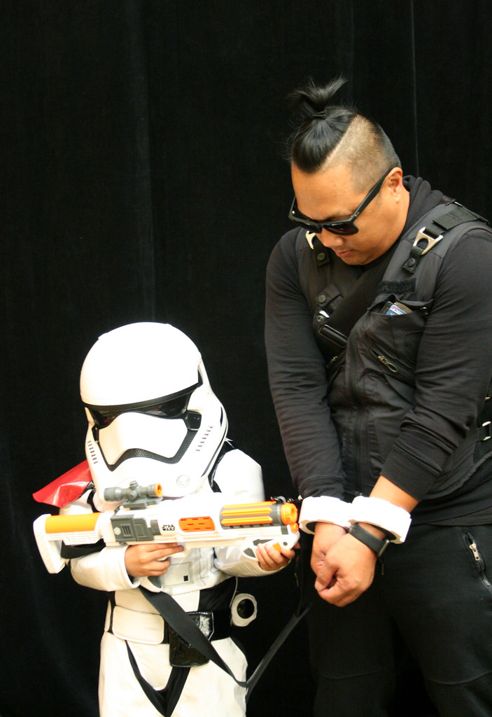 Young StormTrooper and Prisoner Costume
