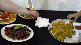 Fry's and Fruit Morning Tea at Animal Activist Forum