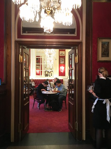 Café Sacher, Vienna, Austria