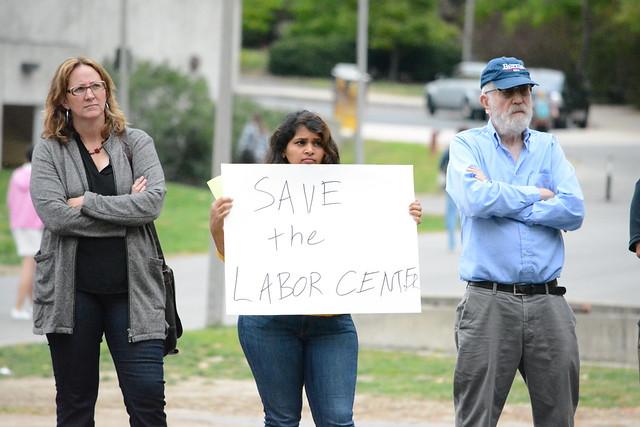 Labor Center Rally