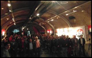 Ciento de personas asistieron al acto del 51º aniversario del MIR.