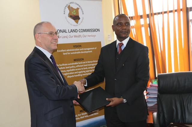 ILRI-NLC signing ceremony