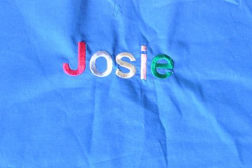 Josie embroidery