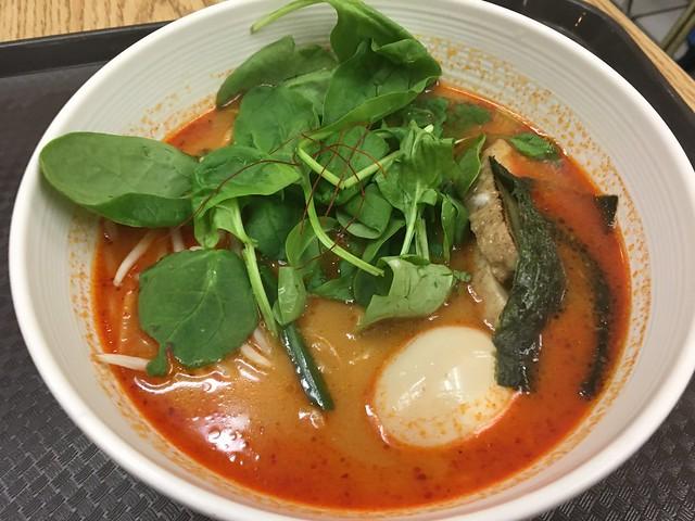 Spicy tonkatsu ramen - Pao Jao Dumpling & Ramen