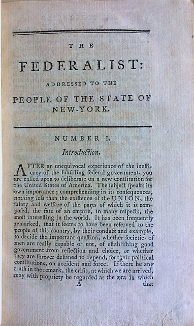 The Federalist By Alexander Hamilton James Madison And John Jay