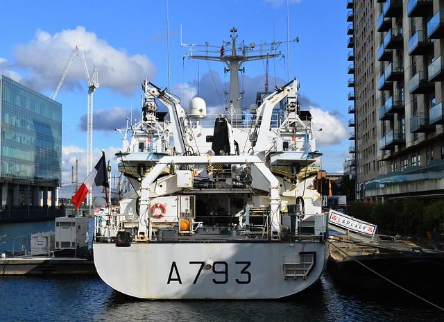 FS Laplace A793 (7) @ West India Dock 01-10-16