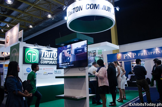 Triton Communications Exhibit Booth