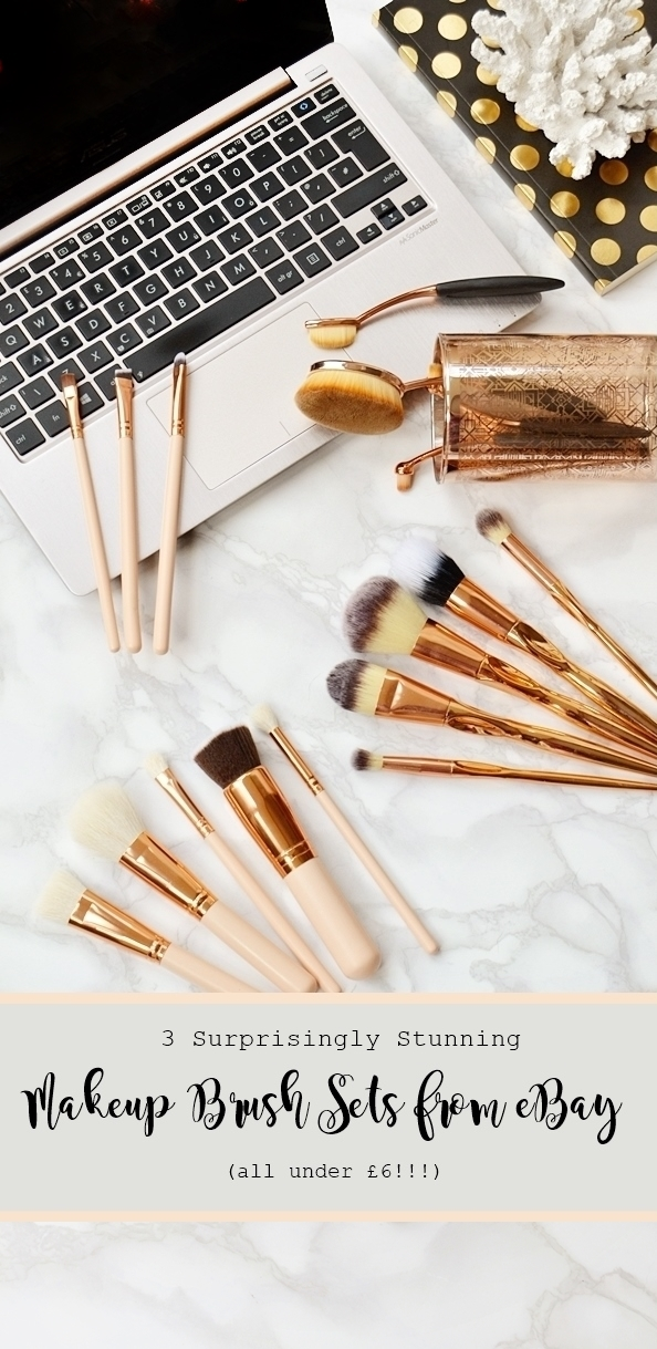 ebay-finds- rose-gold-makeu-brushes-cheap