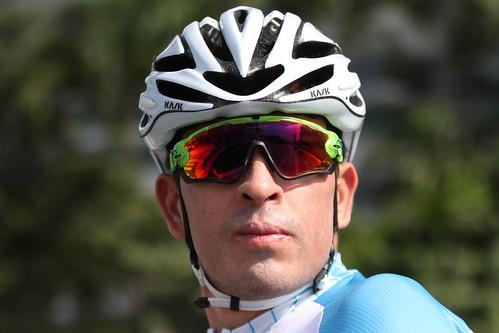 Entreno previo al debut del ciclista Manuel Rodas en JJOO