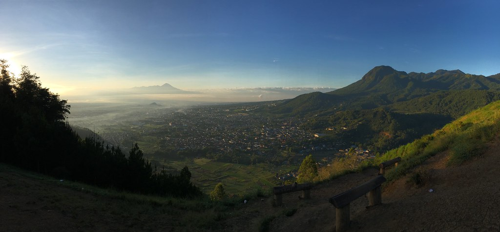 "Morning View from ""Bukit Banyak"", Batu, Malang #iphonephotography #landscape #indonesia #malang"