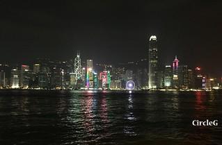 CIRCLEG 遊記 尖沙咀 夜景 海邊  (2)