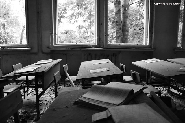 PRIPYAT salle de classe