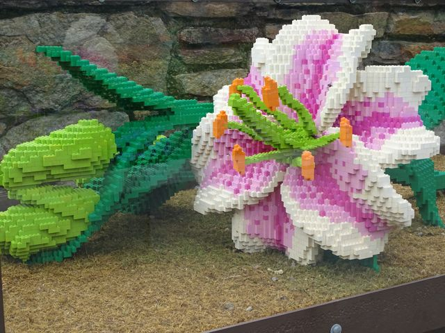 Sean Kenney Lego Exhibit at NC Arboretum ~ From My Carolina Home