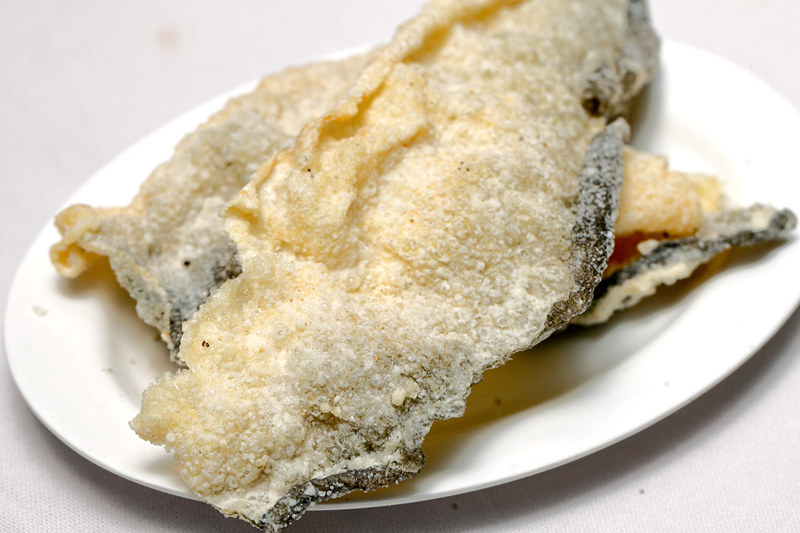 Crispy Fried Fish Skin