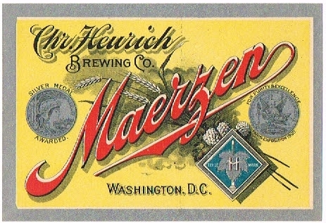 Maerzen-Beer-Labels-Chr-Heurich-Brewing-Co--Pre-Prohibition