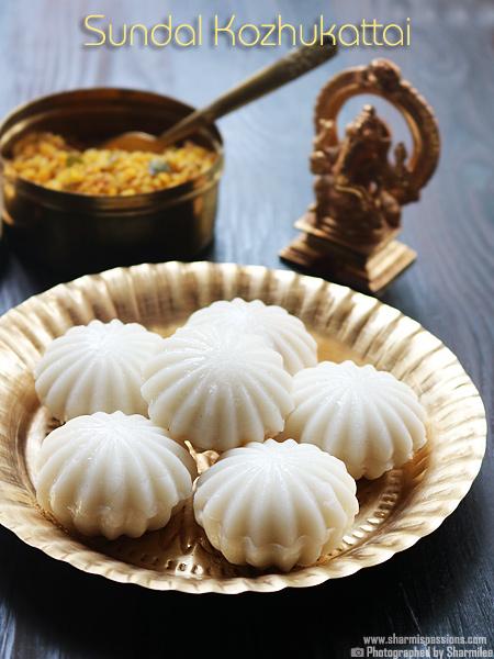 Sundal Kozhukattai Recipe Recipe