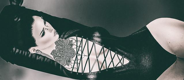 Egoisme - Leather Bodysuit