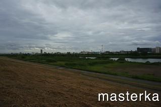 戸田公園の河川敷2